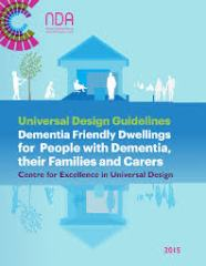 Front cover of UD Dementia Friendly homes