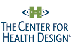 The logo of Center for Health Design