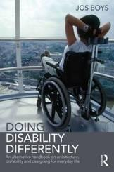cover of book showing a young person in a wheelchair looking out over rooftops in the London Eye
