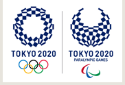 Tokyo Olympic and Parlympic Games logos