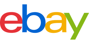 logo of ebay - red e, blue b, yellow a, and green y.