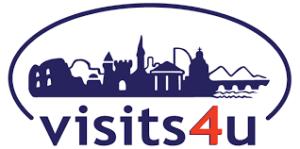 Logo of visits4u inclusive tourism