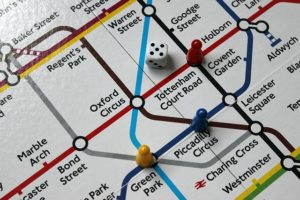 part of a London underground transport map.