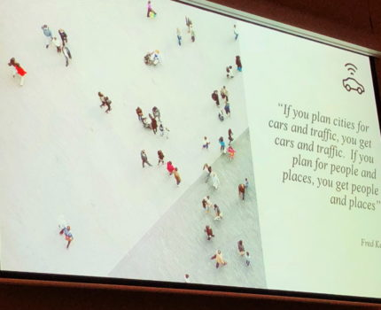A slide from Amy Child's Presentation