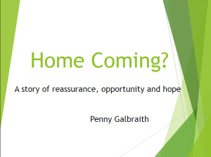 Title slide of the presentation.