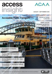 Front cover of magazine showing a Sydney Ferry with the Sydney Harbour Bridge in the background.