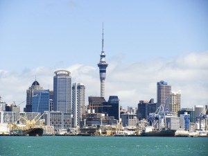 Auckland city skyline. Universal design - 5 ways to improve our cities.