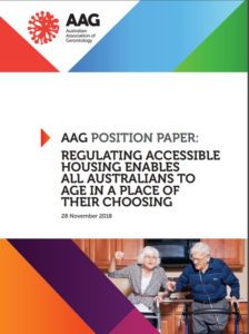 Front cover of the position paper.