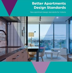 Front cover of standard with internal view of an apartment.