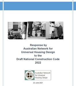 Front cover of ANUHD's response to the Draft NCC.