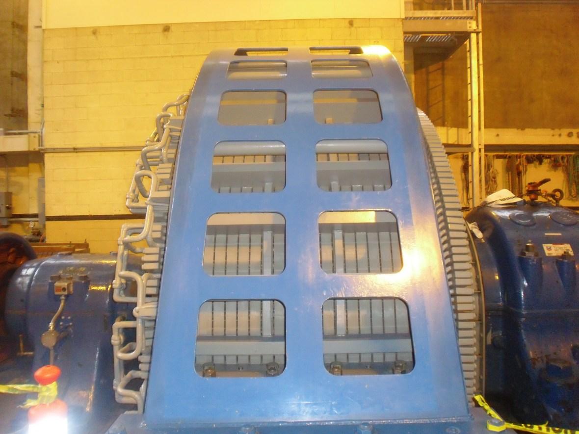 Co2 Blasting Hydroelectric Generator Motor