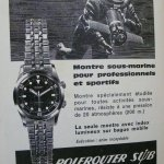 A diver wearing a polerouter sub