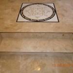 marble tile installation