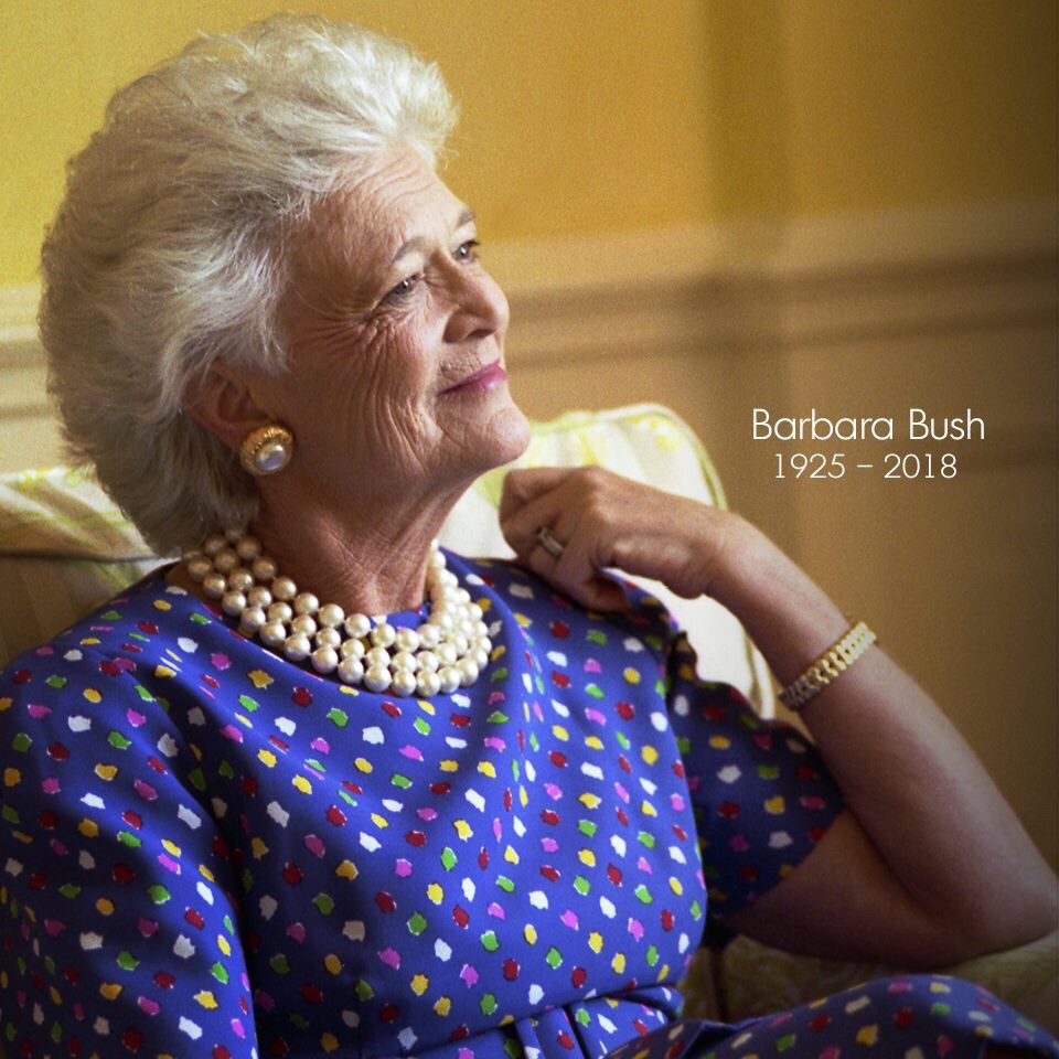 Muere ex-Primera Dama Barbara Bush