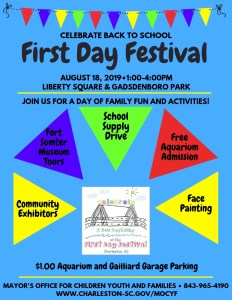 Festival Anual del Primer Día de Clases el 18 de agosto