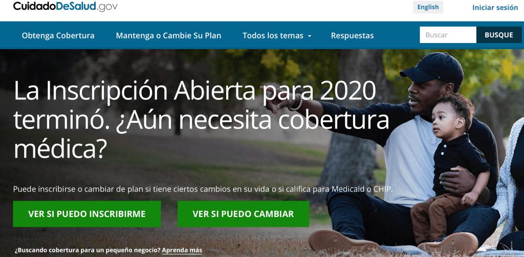 El 18 de Diciembre se vence la extensión y poder registrarse en un seguro médico para la cobertura 2020