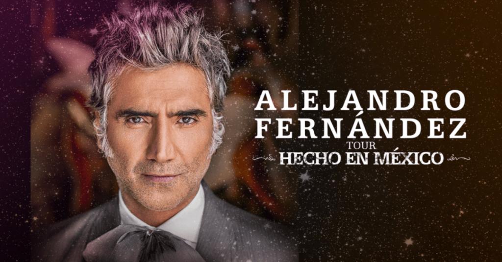 Alejandro Fernández Anuncia las Fechas de su Gira Mundial  'HECHO EN MÉXICO'