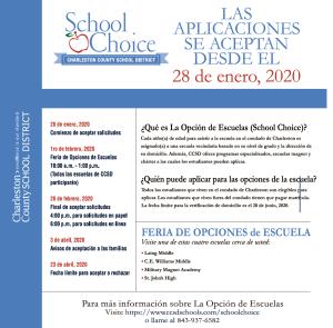 El CCSD ya comenzó a recibir solicitudes para opciones de escuela para el año escolar 2020-2021