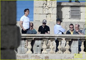"51968661 Actor Tom Cruise arrives in Malta on February 12, 2016 to scout out locations for his upcoming film ""The Mummy"" which will be filmed in Malta next June and July. The actor was seen touring Fort St Elmo in Valletta, Malta. FameFlynet, Inc - Beverly Hills, CA, USA - +1 (310) 505-9876 RESTRICTIONS APPLY: USA/CHINA ONLY"