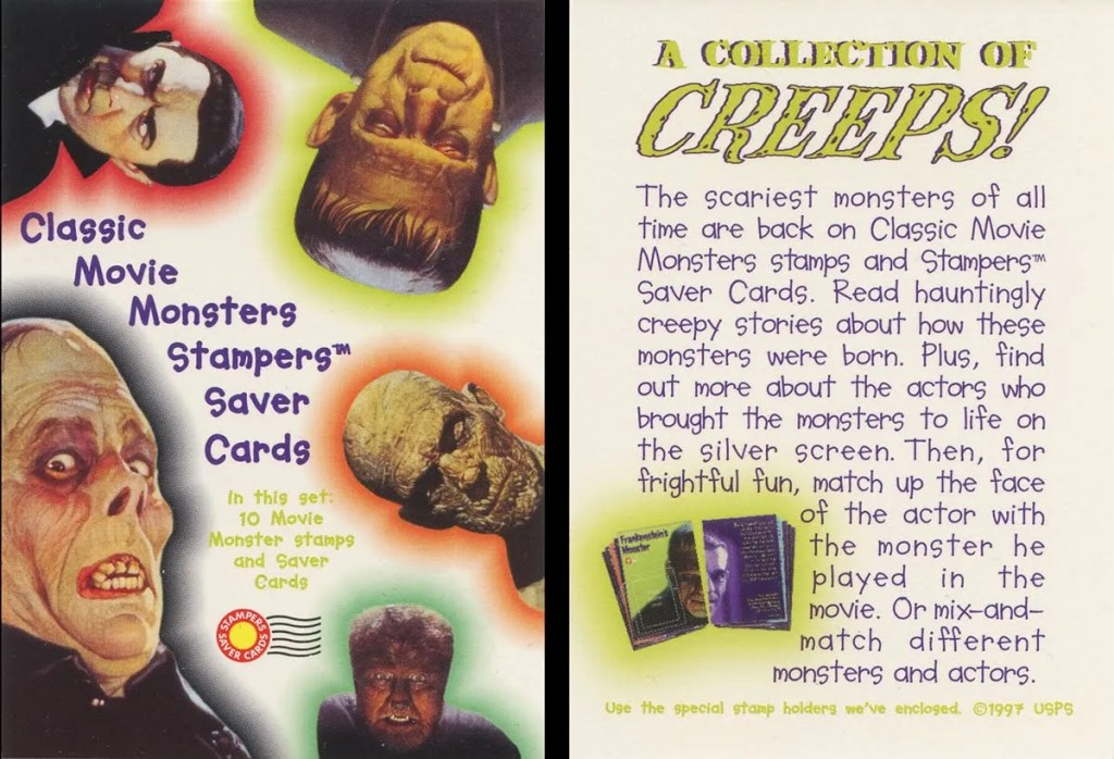 Monster Postage Stamps Title Card
