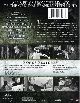 Frankenstein The Legacy Collection Frankenstein The Bride Of Frankenstein Son of Frankenstein The Ghost of Frankenstein House Of Frankenstein Movie free download HD 720p