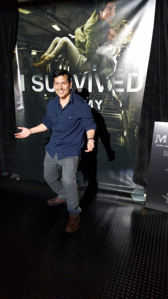 The Mummy Zero Gravity VR Experience