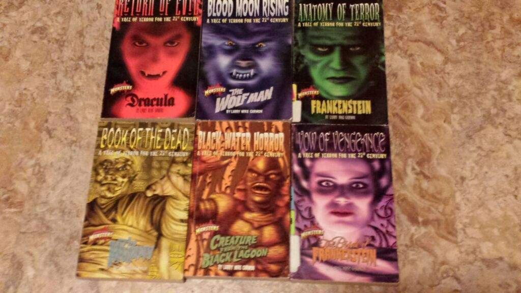 Summertime Reading with the Classic Universal Monsters!
