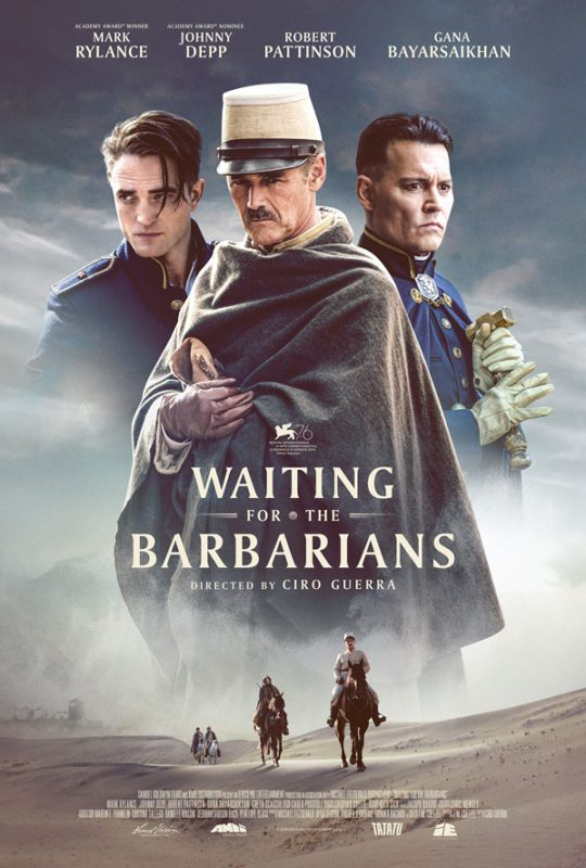 Johnny Depp e Robert Pattinson nel trailer di Waiting for the Barbarians