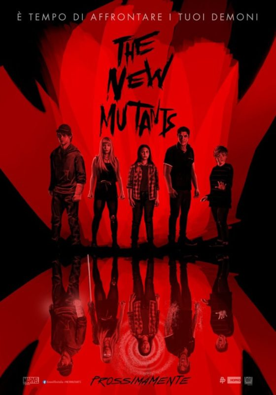 Comic-Con@Home: Citazioni horror nei poster di The New Mutants