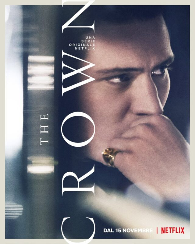 The Crown 4: I characters poster dei protagonisti