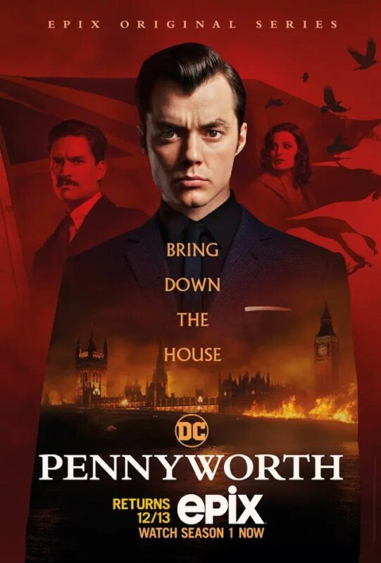 Pennyworth seconda stagione poster