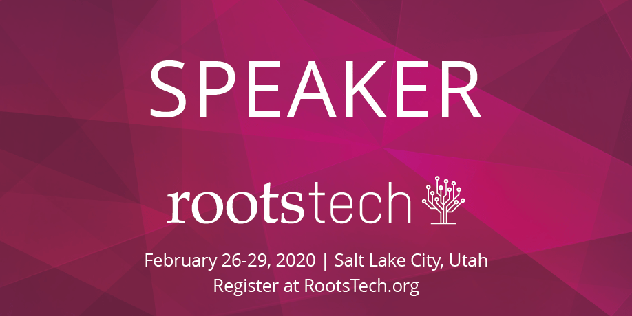 Are you attending RootsTech? Come say hi!