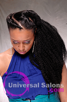 Natural Hairstyles Universal Salons Hairstyle And Hair Salon