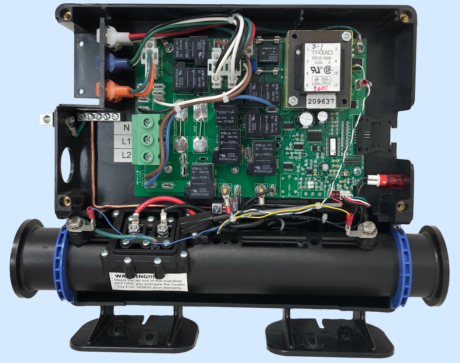 hight resolution of minitrol ii digital spa controller