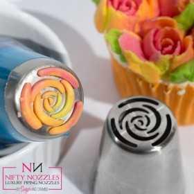 nifty nozzle douille russe rose 10 petales