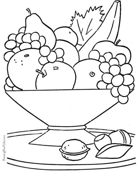 Imagini De Colorat Cu Fructe De Toamna Auto Electrical