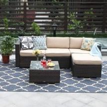 phi villa 5-piece patio furniture