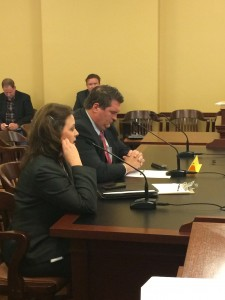 Speaker of the House, Becky Lockhart and Rep. Gibson propose HB204 in the Public Education Appropriations Subcommittee.