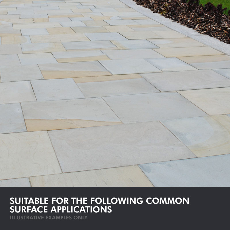 patio stone sealer natural matt finish