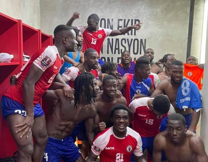 Football : Haïti qualifiée pour la deuxième phase des éliminatoires de la Coupe du monde 2022
