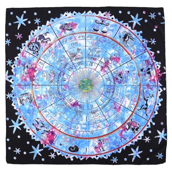 Tapis de Tarot Astrologique grand format