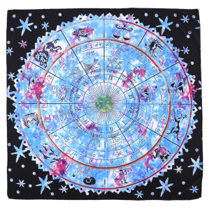 Tapis de Tarot Astrologique grand format