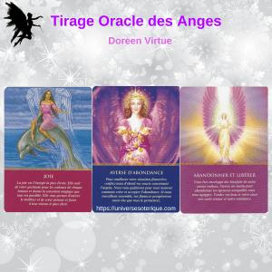Tirage Oracle des Anges 3 cartes