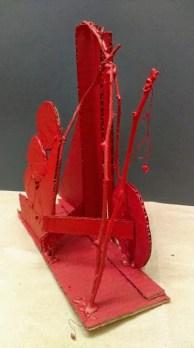Abel Dominguez Mesta,Composición Rojo-2