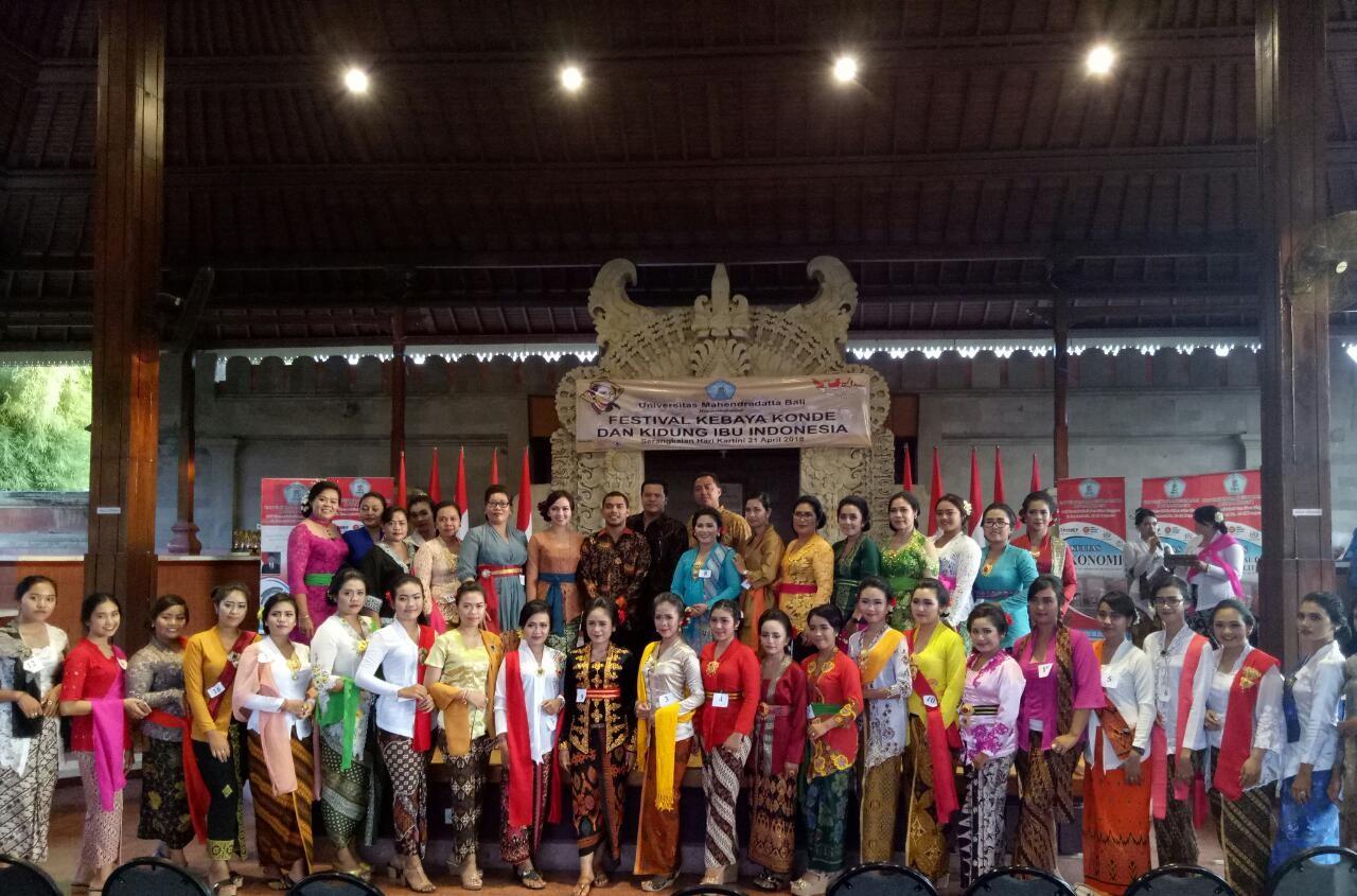 FESTIVAL KEBAYA KONDE DAN KIDUNG UNTUK DUKUNG IBU INDONESIA