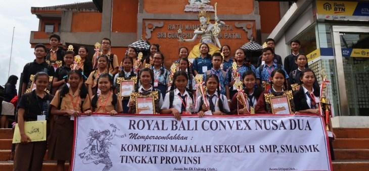ROYAL BALI CONVEX GELAR KOMPETISI MAJALAH SEKOLAH KE-10