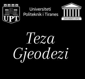 TEZA BTE/ GJEODEZI