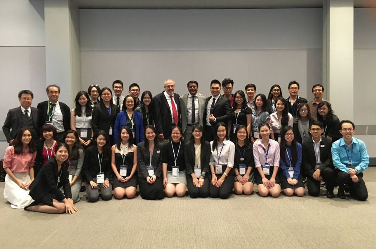 In July 2016, more than 50 HELP Psychology Delegates with Dr Saths Cooper, President of the International Union of Psychological Science, at the 31st International Psychology Conference, Yokohama, Japan.
