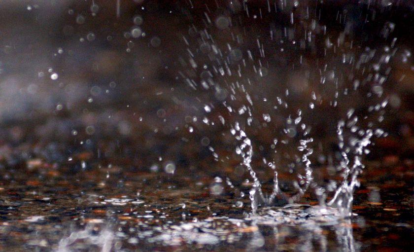 Удар дождевой капли