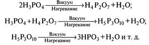 Получение полифосфорных кислот